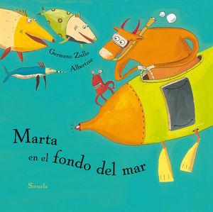 MARTA EN EL FONDO DEL MAR