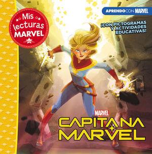 CAPITANA MARVEL.  MIS LECTURAS DISNEY