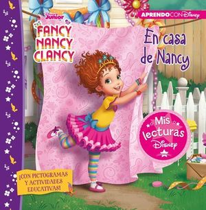 FANCY NANCY CLANCY.  EN CASA DE NANCY CON ACTIVIDADES EDUCATIVAS