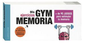 GYM MEMORIA.  MAS DE 90 JUEGOS PARA ESTIMULAR TU MEMORIA