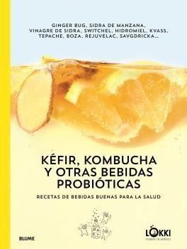 KÉFIR, KOMBUCHA Y OTRAS BEBIDAS PROBIÓTICAS. RECETAS DE BEBIDAS BUENAS
