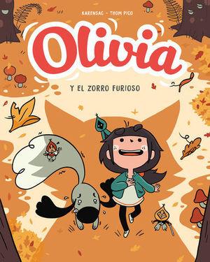 OLIVIA.  EL ZORRO FURIOSO