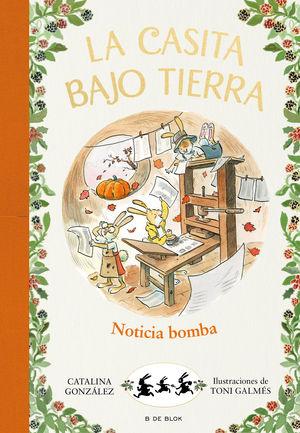 LA CASITA BAJO TIERRA ¡NOTICIA BOMBA!