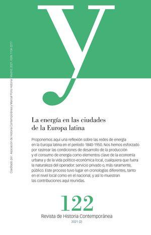 AYER 122- LA ENERGÍA EN LAS CIUDADES DE LA EUROPA LATINA