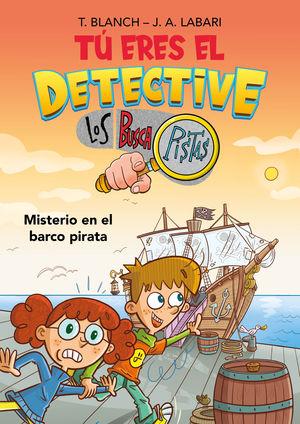 MISTERIO EN EL BARCO PIRATA. TU ERES DETECTIVE 2