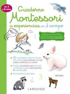 CUADERNO MONTESSORI DE EXPERIENCIAS EN EL CAMPO