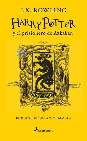 HARRY POTTER Y EL PRISIONERO DE AZKABAN (EDICION HUFFLEPUFF