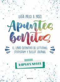 APUNTES BONITOS. LETTERING STUDYGRAM