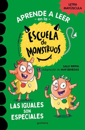 APRENDER A LEER EN LA ESCUELA DE MONSTRUOS 4 GRANDES PINRELES