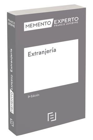 MEMENTO EXPERTO EXTRANJERÍA (3ª EDICIÓN)