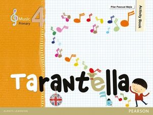 MUSIC TARANTELLA 4º EP ACTIVITY BOOK