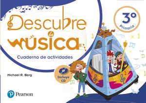 DESCUBRE LA MUSICA 3º EP CUADERNO ACTIVIDADES