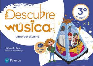 DESCUBRE LA MUSICA 3º PRM LIBRO