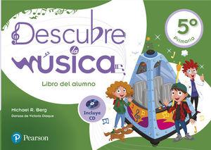 DESCUBRE LA MÚSICA 5º EP LIBRO