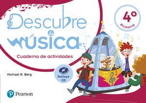 DESCUBRE LA MUSICA 4º EP CUADERNO DE ACTIVIDADES