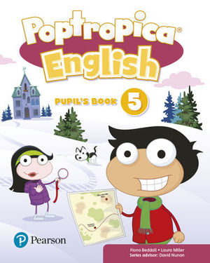 POPTROPICA ENGLISH 5 PUPIL´S BOOK ED. 2018