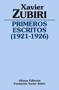 PRIMEROS ESCRITOS (1921-1926)