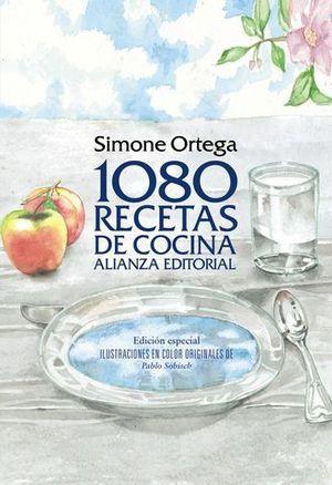 1080 RECETAS DE COCINA ED. ILUSTRADA ED. 2014