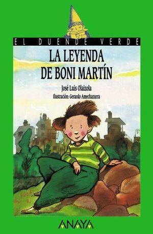 LEYENDA DE BONI MARTIN (+10 AÑOS)