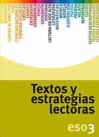 TEXTOS Y ESTRATEGIAS LECTORAS 3º ESO