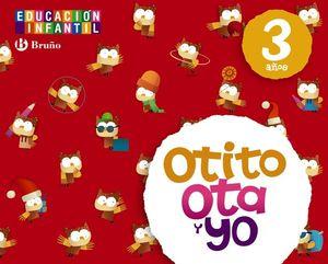 OTITO OTA Y YO 3 AÑOS