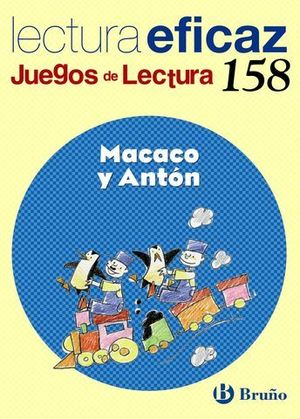 MACACO Y ANTON JUEGOS DE LECTURA Nº 158