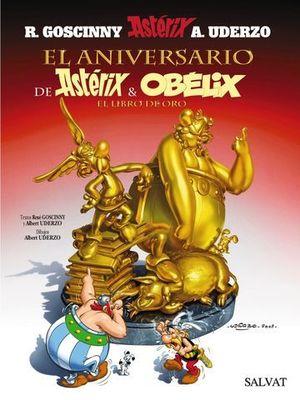 EL ANIVERSARIO DE ASTERIX Y OBELIX EL LIBRO DE ORO