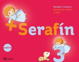 SERAFIN +  3 AÑOS CUADERNO