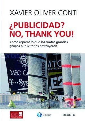 PUBLICIDAD ? NO, THANK YOU