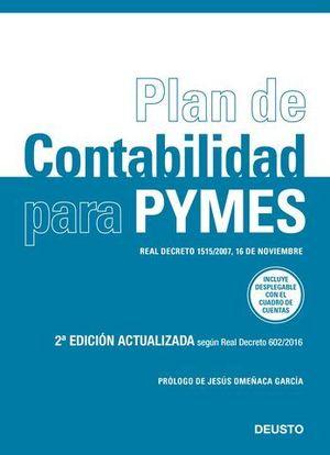 PLAN DE CONTABILIDAD PARA PYMES ED. 2017