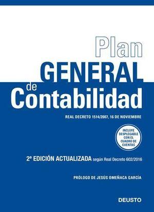 PLAN GENERAL DE CONTABILIDAD ED. 2017