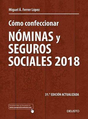 COMO CONFECCIONAR NOMINAS Y SEGUROS SOCIALES 2018
