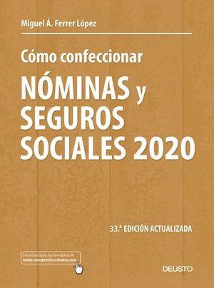 COMO CONFECCIONAR NOMINAS Y SEGUROS SOCIALES 2020