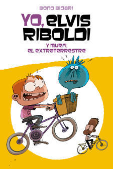 YO, ELVIS RIBOLDI Y MURFI EL EXTRATERRESTRE