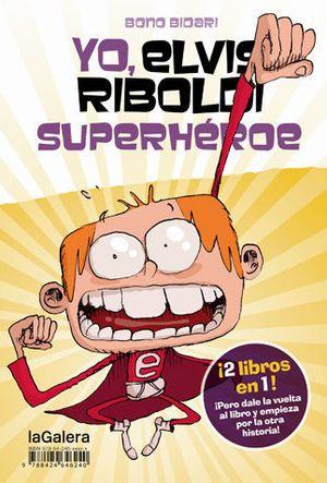 YO, ELVIS RIBOLDI SUPERHEROE LIBRO + CAMISETA