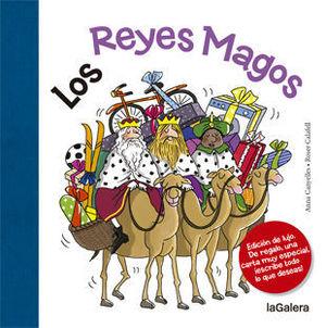 LOS REYES MAGOS ED. LUJO