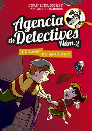 AGENDIA DE DETECTIVES NUM.2.  UN RETO EN 24 HORAS