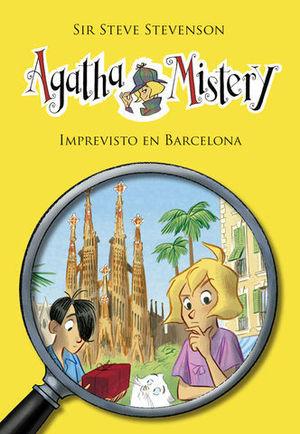 AGATHA MISTERY.  IMPREVISTO EN BARCELONA