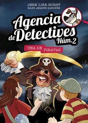 AGENCIA DE DETECTIVES N. 2  UNA DE PIRATAS