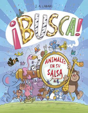 BUSCA ! ANIMALES EN SU SALSA