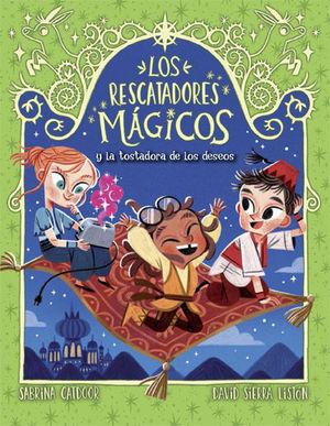 LOS RESCATADORES MAGICOS Y LA TOSTADORA DE LOS DESEOS