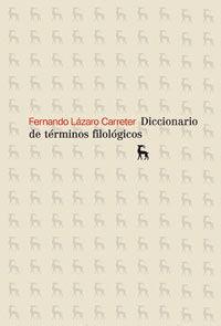 DICCIONARIO TERMINOS FILOLOGICOS