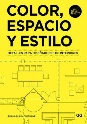 COLOR, ESPACIO Y ESTILO 3ª ED. 2018