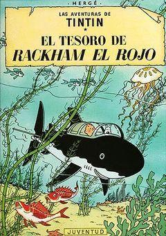 TINTIN Y EL TESORO DE RACKHAM EL ROJO