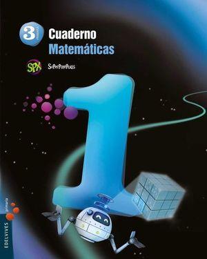 CUADERNO MATEMATICAS 3º EP SUPERPIXEPOLIS 1º TRIMESTRE ED. 2014