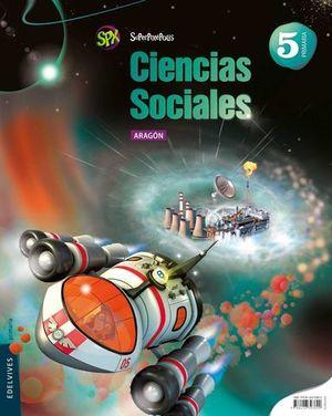 CIENCIAS SOCIALES 5º EP ARAGON SUPERPIXEPOLIS ED. 2015