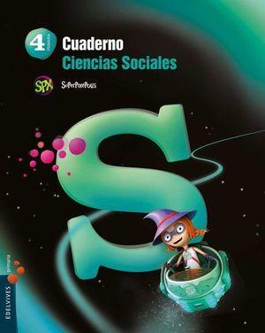 CUADERNO CIENCIAS SOCIALES 4º EP SUPERPIXEPOLIS ED. 2015