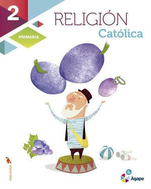 RELIGION 2º PRIMARIA AGAPE SUPERPIXEPOLIS ED. 2015