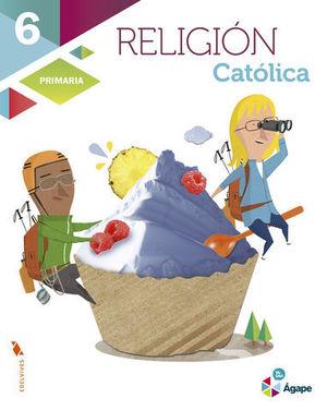 RELIGION 6º PRIMARIA AGAPE SUPERPIXEPOLIS ED. 2015