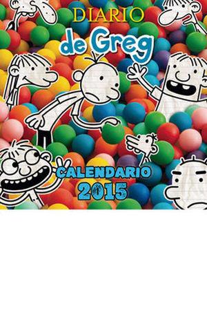CALENDARIO 2015 DIARIO DE GREG